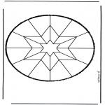 Bricolage cartes de piquer - Dessin à piquer 5