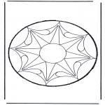 Bricolage cartes de piquer - Dessin à piquer 53