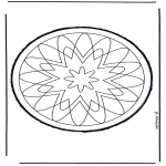 Bricolage cartes de piquer - Dessin à piquer 58