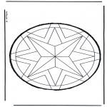 Bricolage cartes de piquer - Dessin à piquer 59