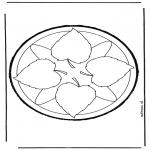 Bricolage cartes de piquer - Dessin à piquer 8