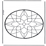 Bricolage cartes de piquer - Dessin à piquer 9