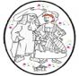 Dessin à piquer - Carnaval