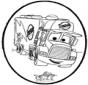 Dessin à piquer - Cars