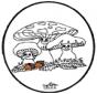 Dessin à piquer - Fungi