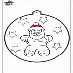 Coloriages Noël - Dessin à piquer - Licitar 2