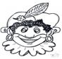 Dessin à piquer - masque 10