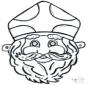 Dessin à piquer - masque 11