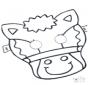 Dessin à piquer - masque 5