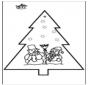 Dessin à piquer - Noël 2