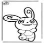 Dessin à piquer Pokémon 5