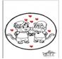Dessin à piquer - Saint-Valentin 5