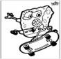 Dessin à piquer SpongeBob