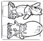 Dessin à piquer - Winnie l'Ourson 5
