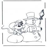 Personnages de bande dessinée - Diddl 15