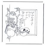 Personnages de bande dessinée - Diddl 17