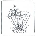 Personnages de bande dessinée - Diddl 28