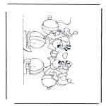 Personnages de bande dessinée - Diddl 40