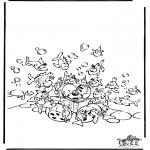 Personnages de bande dessinée - Diddl 49