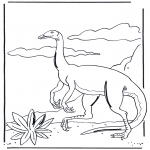Coloriages d'animaux - Dinosaure 3