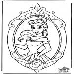 Personnages de bande dessinée - Disney ' Princesse Bella 1