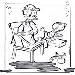 Personnages de bande dessinée - Donald Duck 2