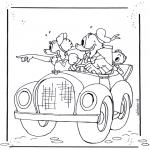 Personnages de bande dessinée - Donald Duck 4