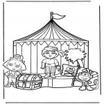 Coloriages pour enfants - Dora 13