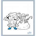 Coloriages pour enfants - Dora 17