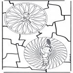 Mandala - Duo manala d'enfant