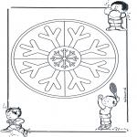 Mandala - Duo mandala 11
