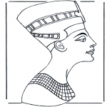 Coloriages faits divers - Egyptien 2
