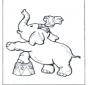 Eléphant de cirque