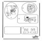 Etiquettes pour cadeaux - Les 101 Dalmatiens
