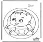 Fenêtre pendentif de bébé
