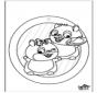Fenêtre pendentif - Hamster 1