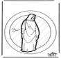 Fenêtre pendentif - Jésus