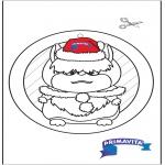 Bricolage coloriages - Fenêtre pendentif - Primavita Hamster