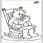 Coloriage thème - Fête des mères 11
