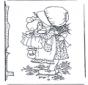 Fille avec poupée