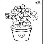 Coloriages faits divers - Fleurs 6