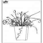 Coloriages faits divers - Fleurs 7