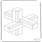 Coloriages faits divers - Formes géométriques 1