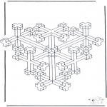 Coloriages faits divers - Formes géométriques 10