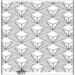 Coloriages faits divers - Formes géométriques 11
