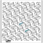 Coloriages faits divers - Formes géométriques 12