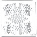 Coloriages faits divers - Formes géométriques 2
