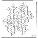 Coloriages faits divers - Formes géométriques 3