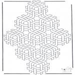 Coloriages faits divers - Formes géométriques 4