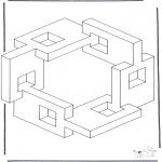 Coloriages faits divers - Formes géométriques 5